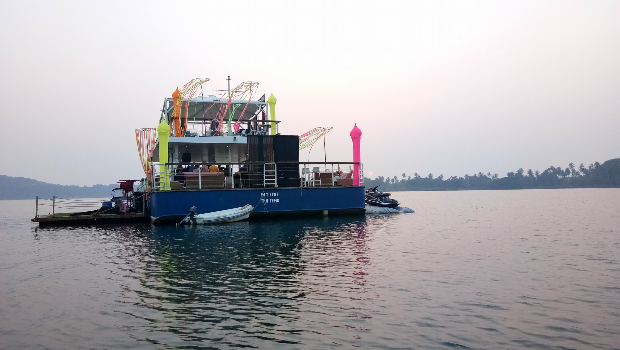 Adventure and Party Boat Cruise in Goa -