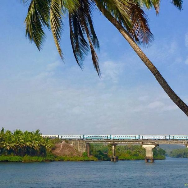 House Boat in Chapora River, Goa