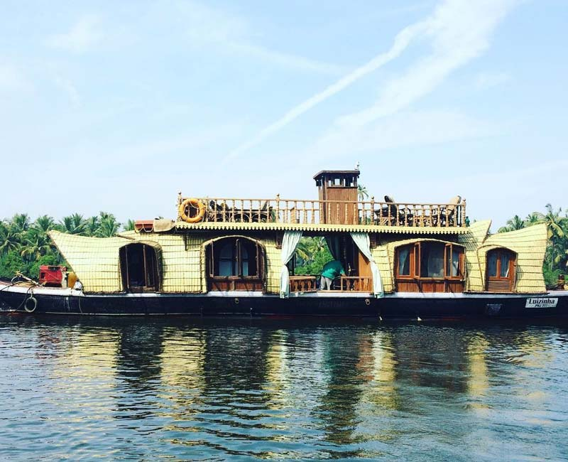 Chapora House Boat in Goa